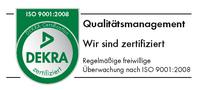 Nach ISO 9001 zertifizierte Praxis